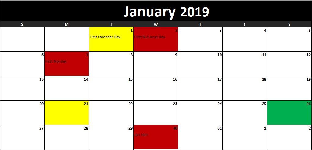 task manager calendar