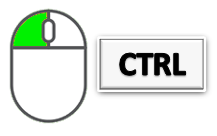 ctrl mouse copy and paste