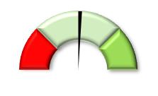 gauge chart excel bevel